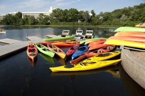 Canoeing and kayaking on the Charles