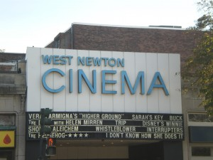 Catch a movie at the West Newton Cinema!